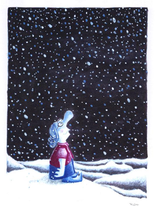 © Ribic / First Snowfall of the Season! / Der erste Schneefall der Jahreszeit!